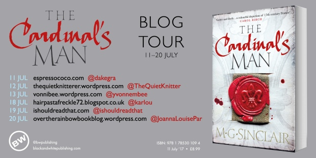 cardin man blogtour