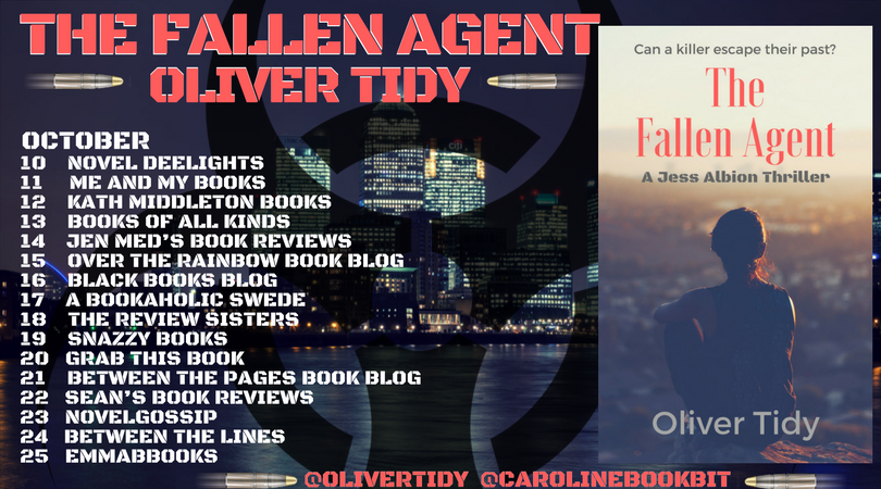The Fallen Agent - Oliver Tidy - Blog Tour Poster 2.0 (4)