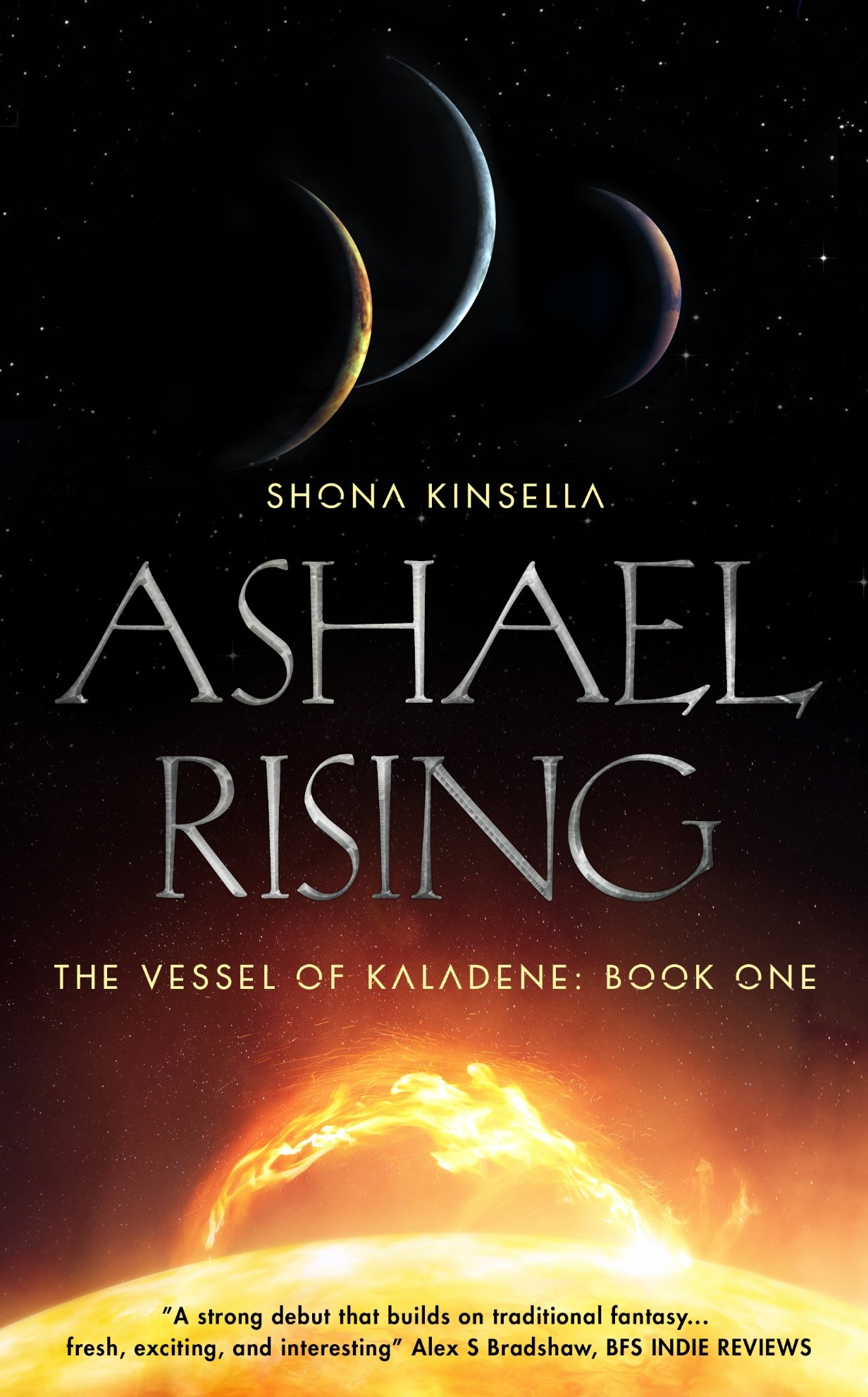 Ashael Rising Cover