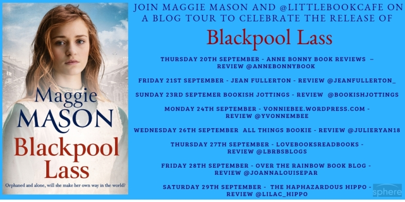 Blackpool Lass blog tour poster