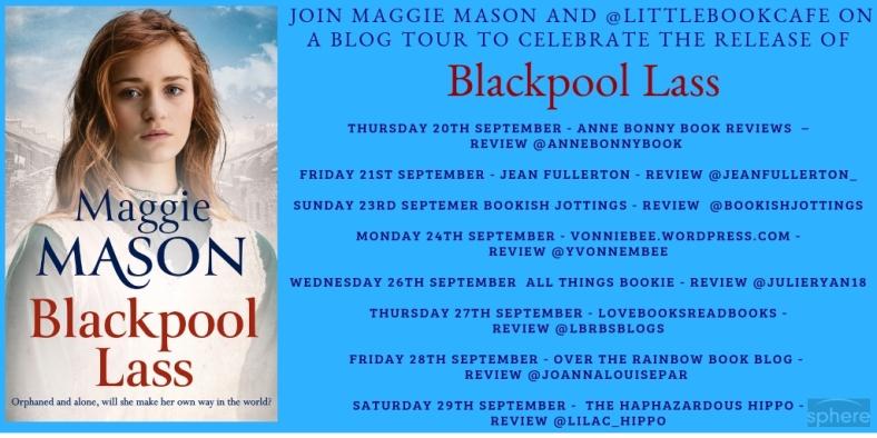 Blackpool Lass blog tour poster