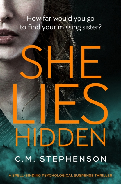 C.M. Stephenson - She Lies Hidden_cover