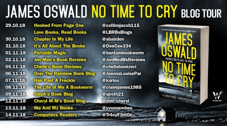 No Time To Cry Blog Tour Poster